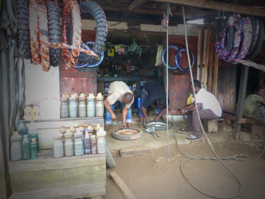 motor shop in Kribi